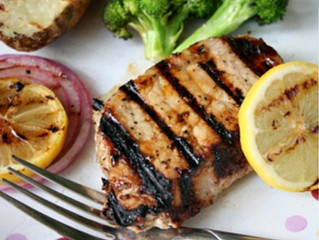 Honey Lemon Pork Chops