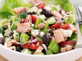 Tuna Mediterranean Salad