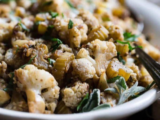 Holiday Cauliflower Stuffing