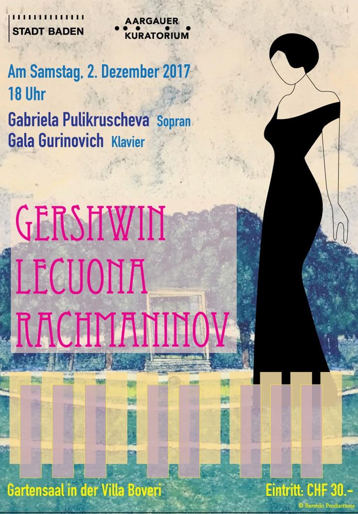 Gerschwin Lucouna Rachmaninov