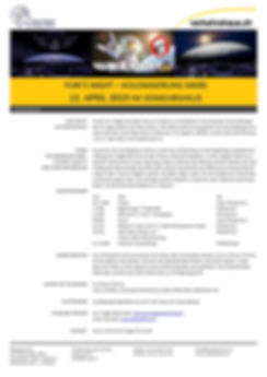 Yuri's Night 2019 Luzern - Fact Sheet