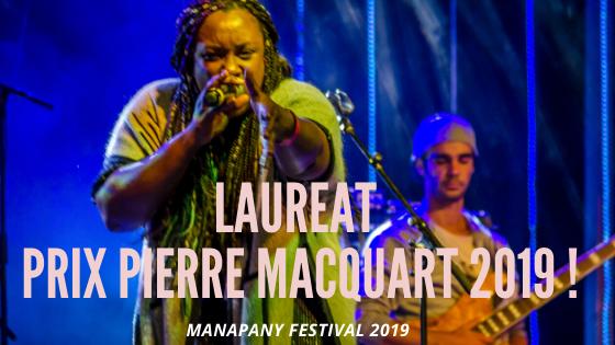 LAUREAT PRIX PIERRE MACQUART 2019