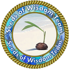 Seeds of Wisdom Team Web Avatar-Gold Out