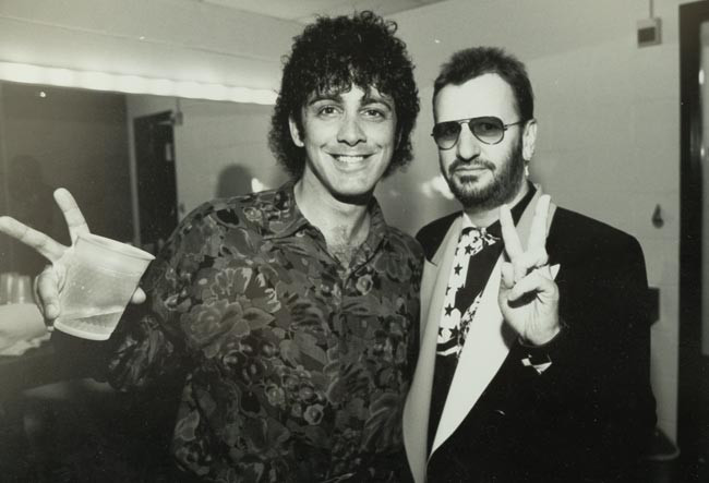 Tom with Ringo