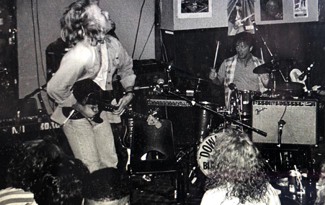 One of the first gigs with Jeff.