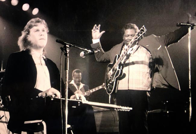 Jeff with BB King