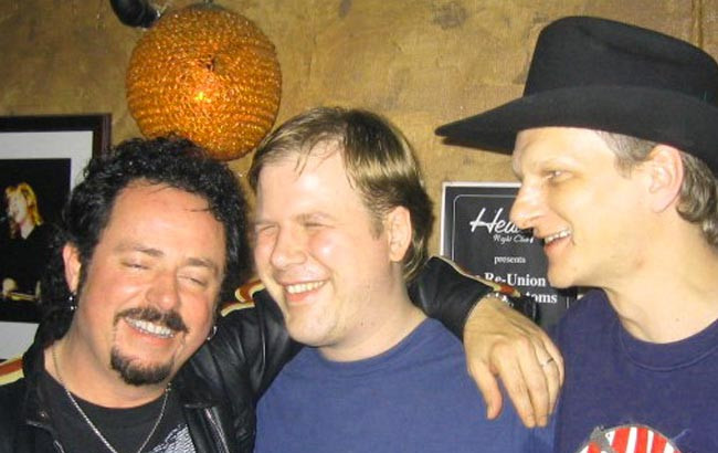 Steve Lukather with Jeff and Big Ben