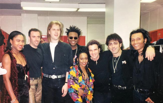 JHB with Tico Torres and crew