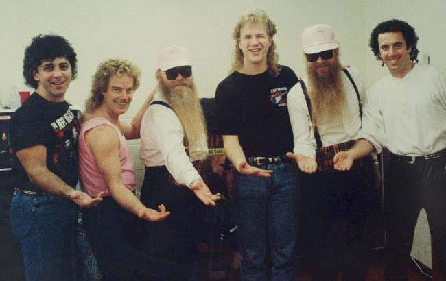 JHB with ZZ Top