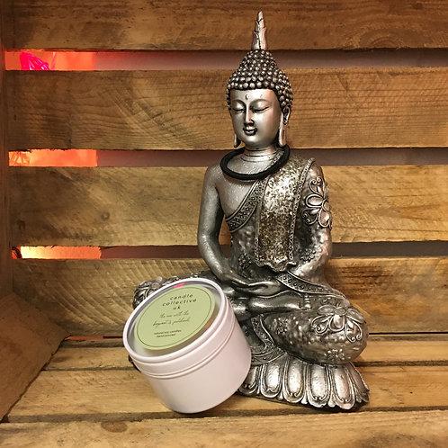 Bergamot & Patchouli Candle in a Tin