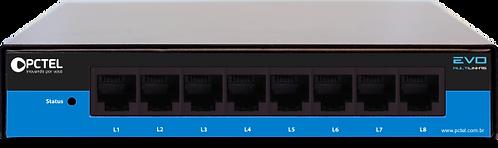Gravador Telefônico Pctel EVO 8 Linhas