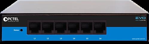 Gravador Telefônico Pctel EVO 6 Linhas