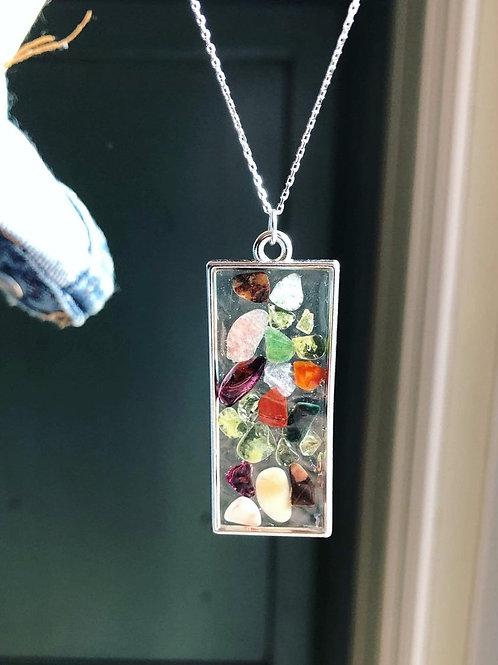 Gemma Collection - Genuine Semi Precious Gemstone Necklace