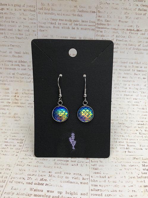 Mermaid Inspired Dangle Earrings