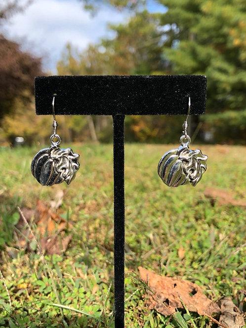 Cute Pumpkin Fall Dangle Earrings