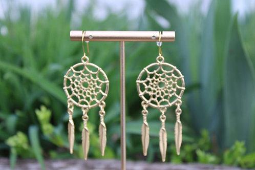 Dream Catcher Earrings, Dangle Earrings, Earrings for Women, Gifts for Women