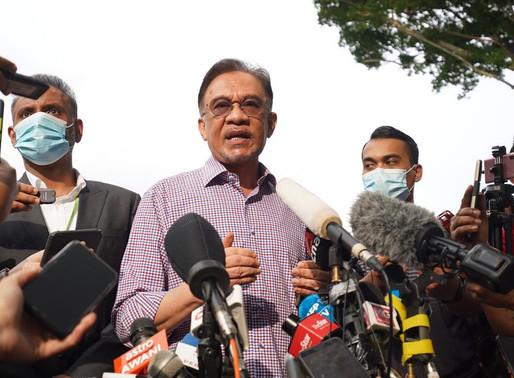 Soal nama dan bilangan sokongan MP antara saya dan Agong - Anwar