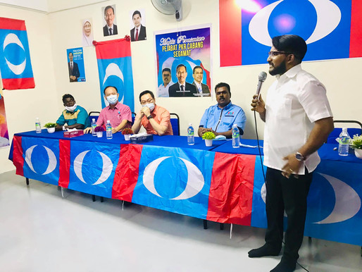 AMK Tebrau kesal Steven Choong khianati mandat pengundi
