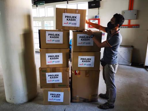 KEADILAN Permatang Pauh hantar kotak PPE kepada frontliners Sabah