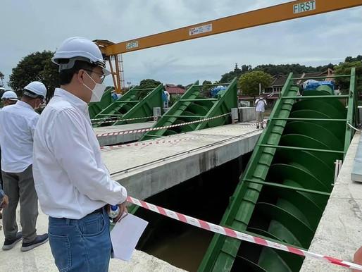 Projek Mitigasi Banjir di Bayan Baru dijangka siap Februari 2022