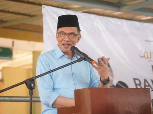 Seruan Anwar disahut, sumbangan dana meningkat ke RM1 juta