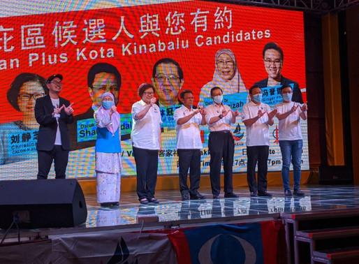 Christina Liew banyak berjasa di Sabah, jangan lupa undi KEADILAN - Shafie Apdal