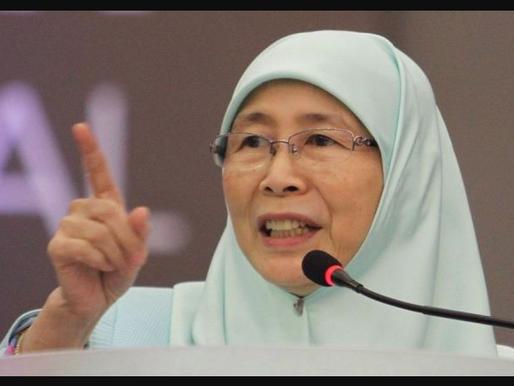 Dahulu pejabat Wan Azizah bincang isu rakyat, sekarang jadi studio Rina Harun