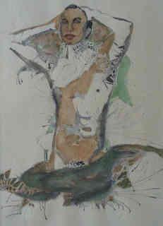 Daniel France, aquarelle sur papier, 130 € -  30 x 40 cm (1).JPG