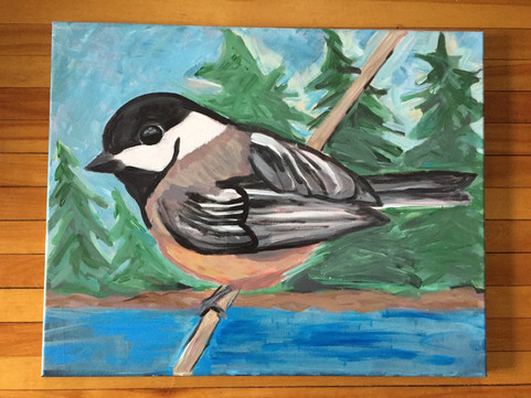 Black-capped Chickadee - available