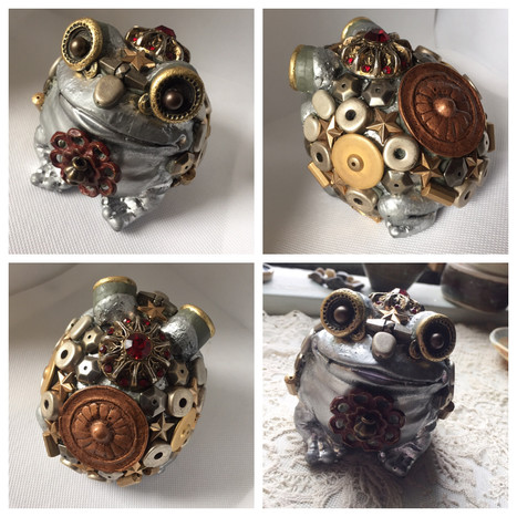 Steam Punk Toad - Sold
