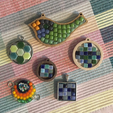 Mosaic charms