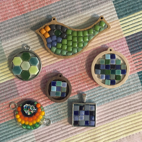 Mosaic charms