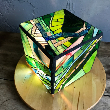 Ebb & Flow - on exhibit at Foci MN Center for Glass Arts