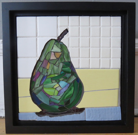 Pear mosaic (sold)