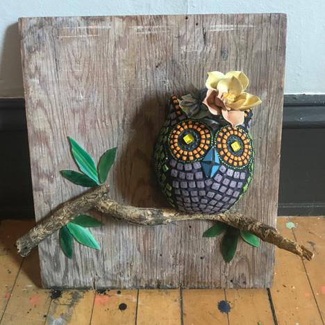 Fabulous Flower Owl