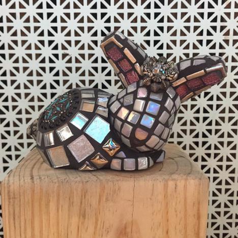 Sparkle Snow Bunny - Sold