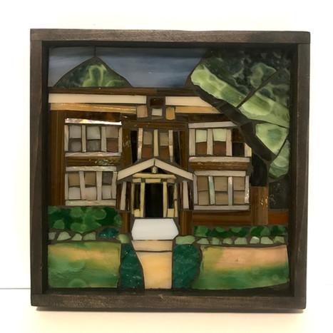 Home portrait (in private collection)