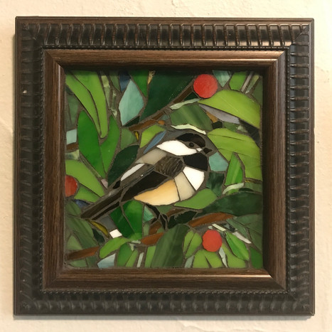 Friendly Chickadee - on exhibit at Red Wing Arts