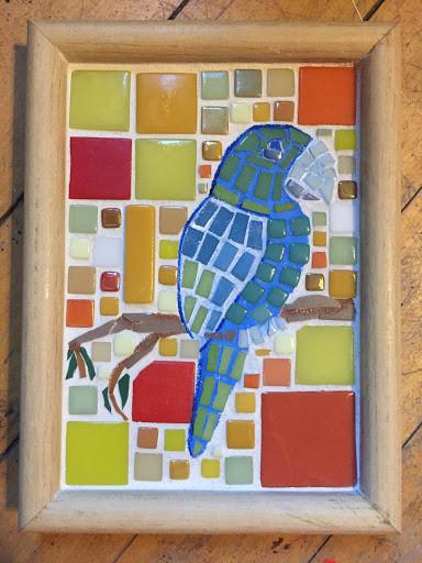 Australian light parrot - available
