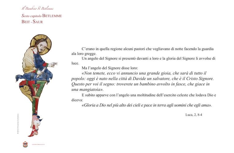 00022 IL BAMBINO DIAPOSITIVA VI VII capi