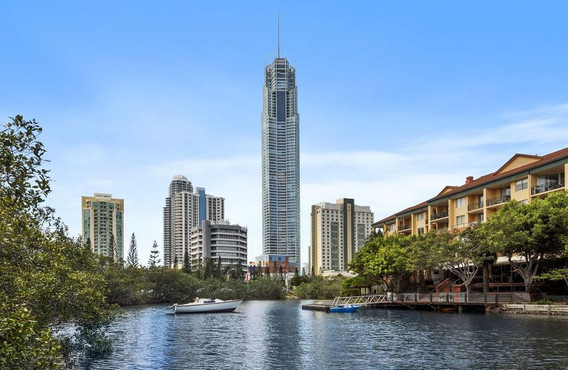 Rivers Views of Surfers Paradise