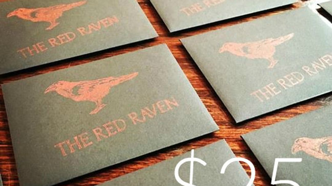 Red Raven Gift Card