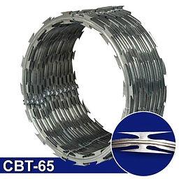 Rollo de concertina CBT-65 cuchilla navaja