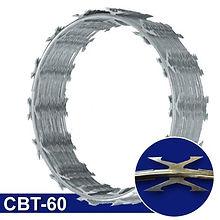 Rollo de concertina CBT-60 cuchilla arpón