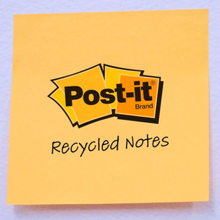 Recycled Post-It Notes