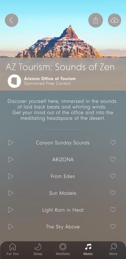 Calm App Playlist