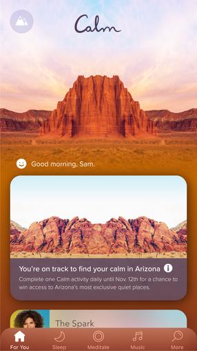 Calm App Integration