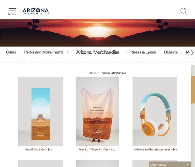 Website Merch Page