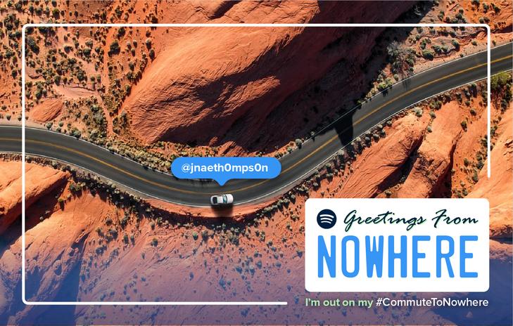 #CommuteToNowhere - Desert