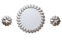 Molène mirror and sconces